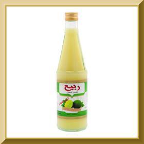 Lemon Juice 430Gr Glass